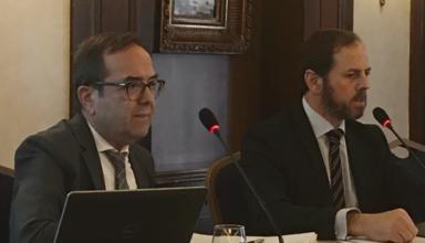 Γιάννης Βογιατζής και Falcao Frederico στη Συνάντηση Οινοποιητικών Επιχειρήσεων της ΕΔΟΑΟ